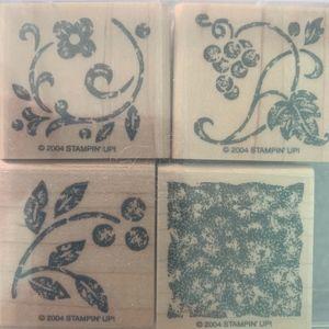 Stippled Stencils Stamp Set